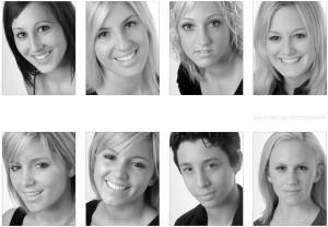 model portfolio and head shots