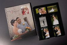Wedding portfolio proofbook of photographs