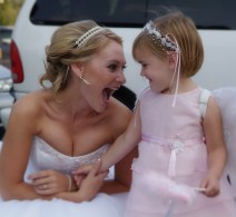 bride-flowergirl