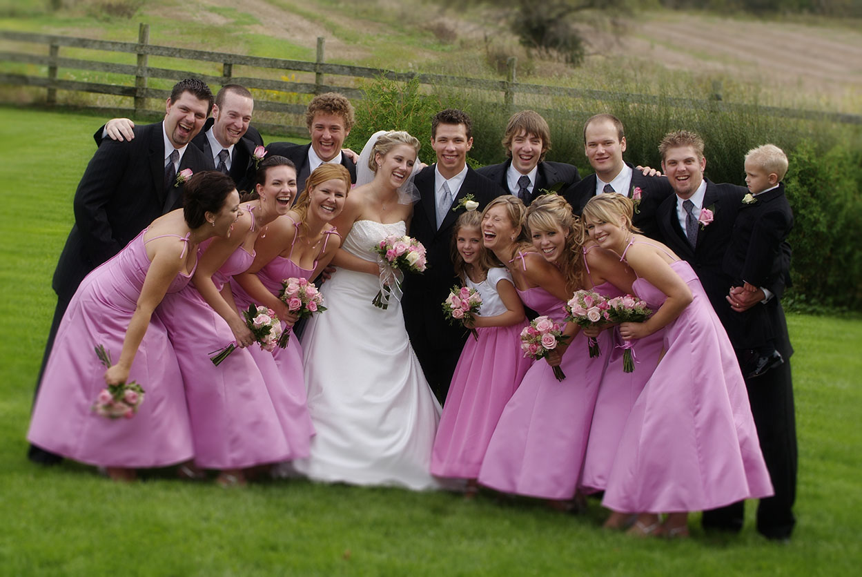 Wedding Party Photography by David Briggs Photography